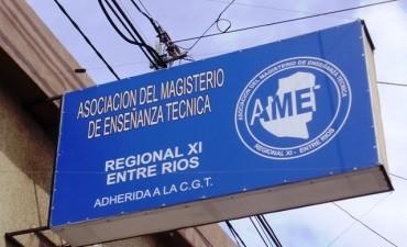 Los docentes técnicos se sumarán al paro convocado por Agmer