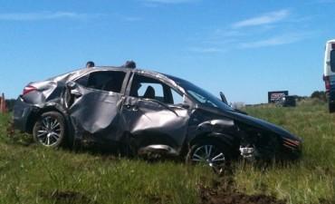 La Ruta Nacional N 127 se cobro otra vida en lamentable accidente .