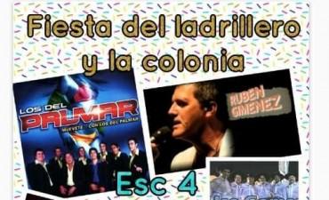 DOMINGO 15 DE OCTUBRE: FIESTA DEL LADRILLERO Y LA COLONIA