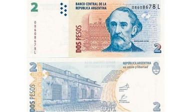 Sacan de circulación los billetes de $ 2
