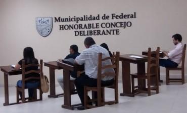 Nueva sesión ordinaria del Concejo Deliberante
