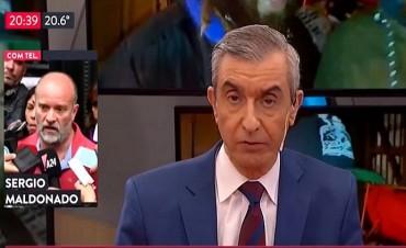 """Clarín no pudo evitar las críticas a Macri: """"es un hipócrita y una basura"""", dijo el hermano de Maldonado"""