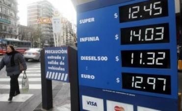 Desde hoy aumentan las naftas