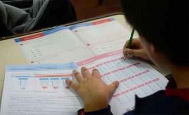 Nueva edición de las pruebas Aprender: Evaluarán a más de un millón de alumnos