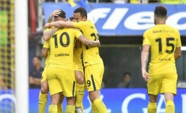 Boca goleó a Belgrano en La Bombonera y se mantiene firme en la cima