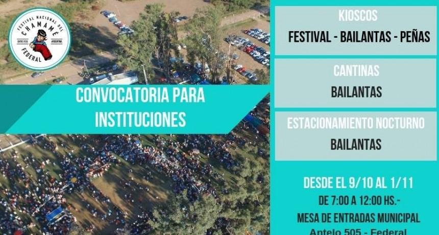 CONVOCATORIA A INSTITUCIONES PARA KIOSCOS, CANTINAS Y ESTACIONAMIENTOS
