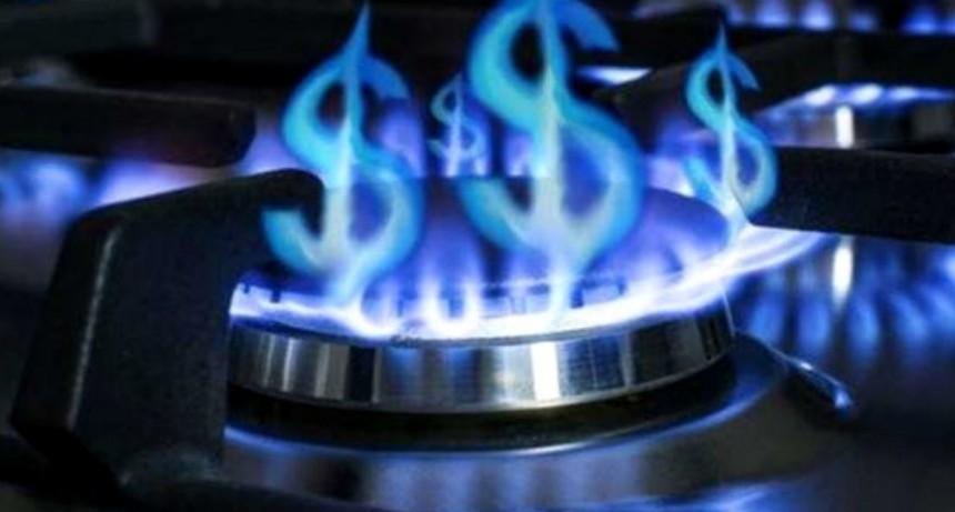Oficialmente no habrá cargo extra por el gas a los usuarios