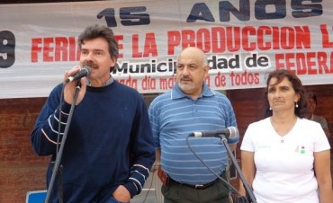 Los quince años de la Feria de la Producción en Federal