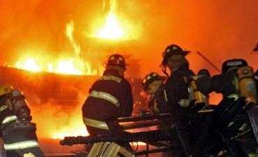 Trágico incendio en Garín: un matrimonio y dos jóvenes murieron calcinados