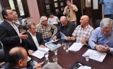 Valiero le explico a los Diputados los números del presupuesto, la pauta salarial y la emisión de Letras