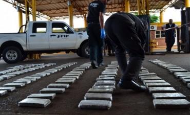 AFIP evitó en Misiones un contrabando de 210 kilos de marihuana valuados en más de $ 2 millones