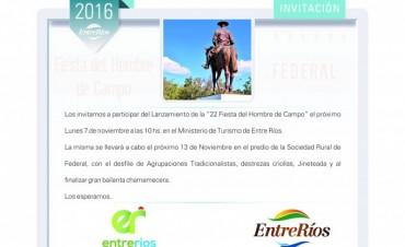 Lanzamiento Provincial de la Fiesta del Hombre de Campo