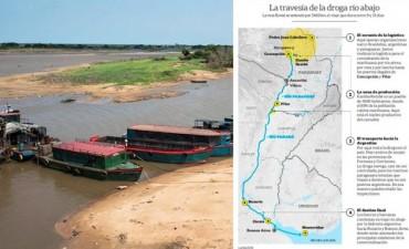 Hidrovía de los ríos Paraguay y Paraná es el mayor canal de entrada de marihuana