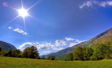 Seguirán los días soleados, pero cada vez más calurosos