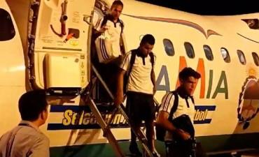 La Selección Argentina ya está en Belo Horizonte para el gran partido ante Brasil