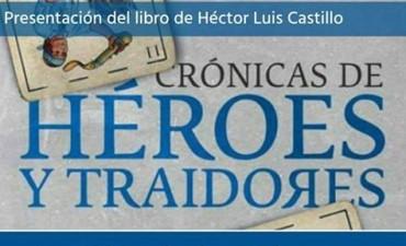 """Presentación del libro """"Crónicas de héroes y traidores"""" en la Biblioteca del Honorable Congreso de la Nación."""