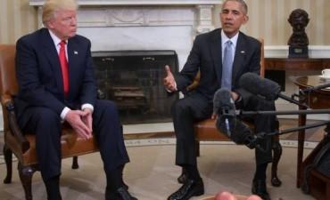 Histórico encuentro en la Casa Blanca: Donald Trump afirmó que espera trabajar junto a Obama