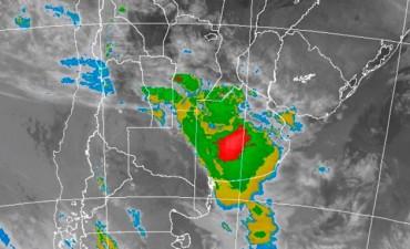 Alerta por tormentas fuertes para una zona de Entre Ríos y otras provincias