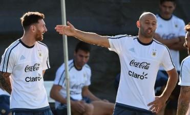 Junto a Messi y Mascherano hay un buchón
