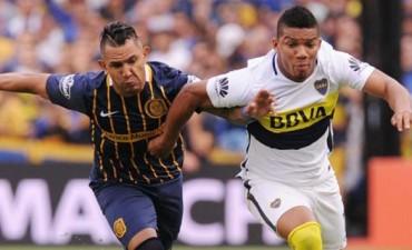 En un partido caliente, Boca y Central igualaron en la Bombonera