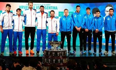 Se sorteó la final de la Davis: Federico Delbonis abre la serie con Marin Cilic