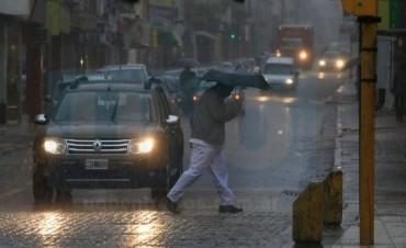 Alerta por tormentas fuertes con granizo