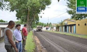 Federal : Jose Luis Bustamante : obras, servicios y trabajos desde la Gestión Municipal