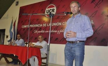 Asumió Galimberti en la UCR