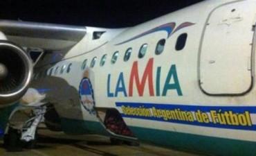 El CP 2933, el mismo avión que llevó a la Selección argentina hace 18 días