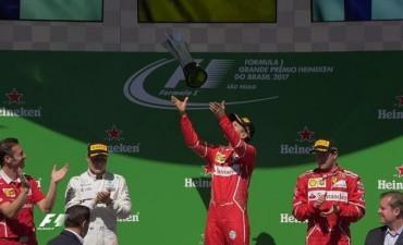 Fórmula 1: Vettel se impuso en el Gran Premio de Brasil