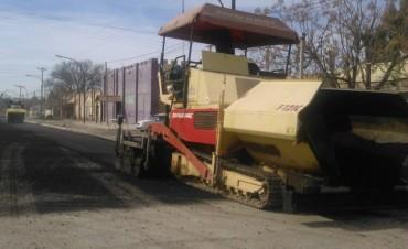 El Municipio brindo detalles técnicos sobra las obras de asfaltado de calles de Federal