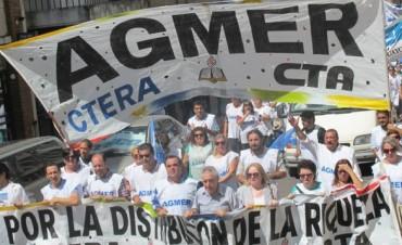 AGMER se declaró en alerta y movilización contra las reformas de Macri