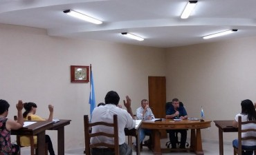 Sesión Ordinaria del Concejo Deliberante