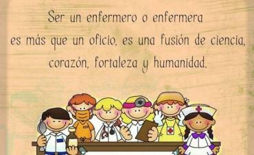 Desde la Seccional de Ate Federal saludan a los Enfermeros en su día