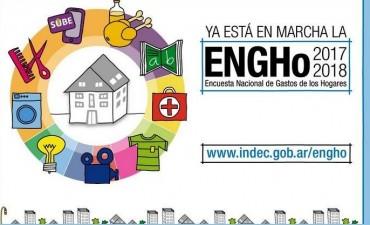Comienza la Encuesta Nacional de Gastos de los Hogares en la provincia