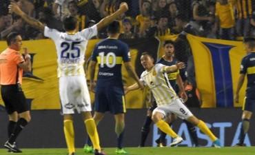 En un partido muy friccionado, Rosario Central volvió a darse una alegría frente a Boca