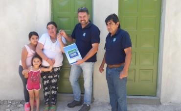 El Municipio brindo una solución habitacional