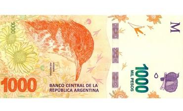 Las medidas de seguridad del billete de 1000 pesos que entra en circulación