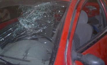 Conscripto Bernardi: Un Ford K embistió a un tractor municipal