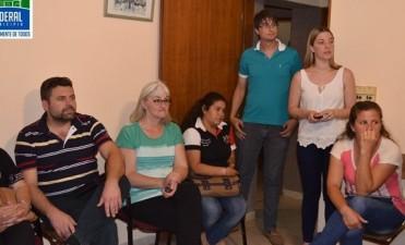 Los Artesanos se reunieron con el Intendente Chapino