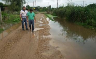 El Intendente Chapino recorrió el Barrio El Silvido
