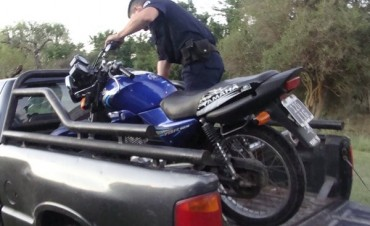 Operativo de control de Motos en el camping del Puesto 4: retienen 7 motos