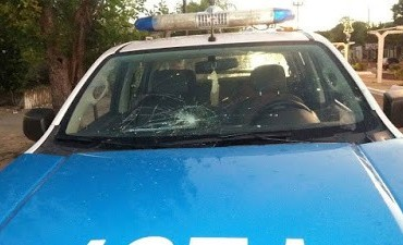 En Santa Elena hubo represión Policial
