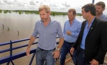 Frigerio gestionará fondos extraordinarios para asistir económicamente a Concordia