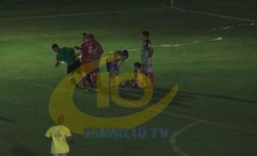 Otra salvaje agresión a un árbitro: Esta vez ocurrió en la Liga Departamental de Colón