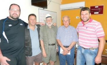 El Intendente recibió la visita de familiares del fundador del primer hospital