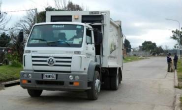 El Municipio garantiza la recolección de residuos para los feriados del 8 y 9 de Diciembre