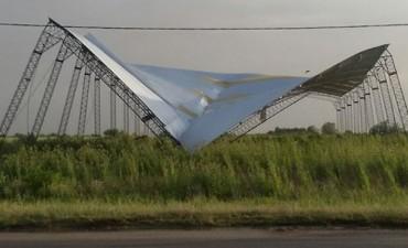 Los destrozos que dejó la tormenta en el sur provincial: Impactantes imágenes
