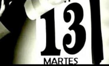 Hoy es el último martes 13 del año