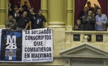 Malvinas: rechazan DNU que limitaba jubilaciones de excombatientes